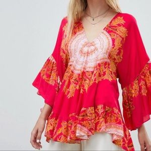 Free People Blouse, size M